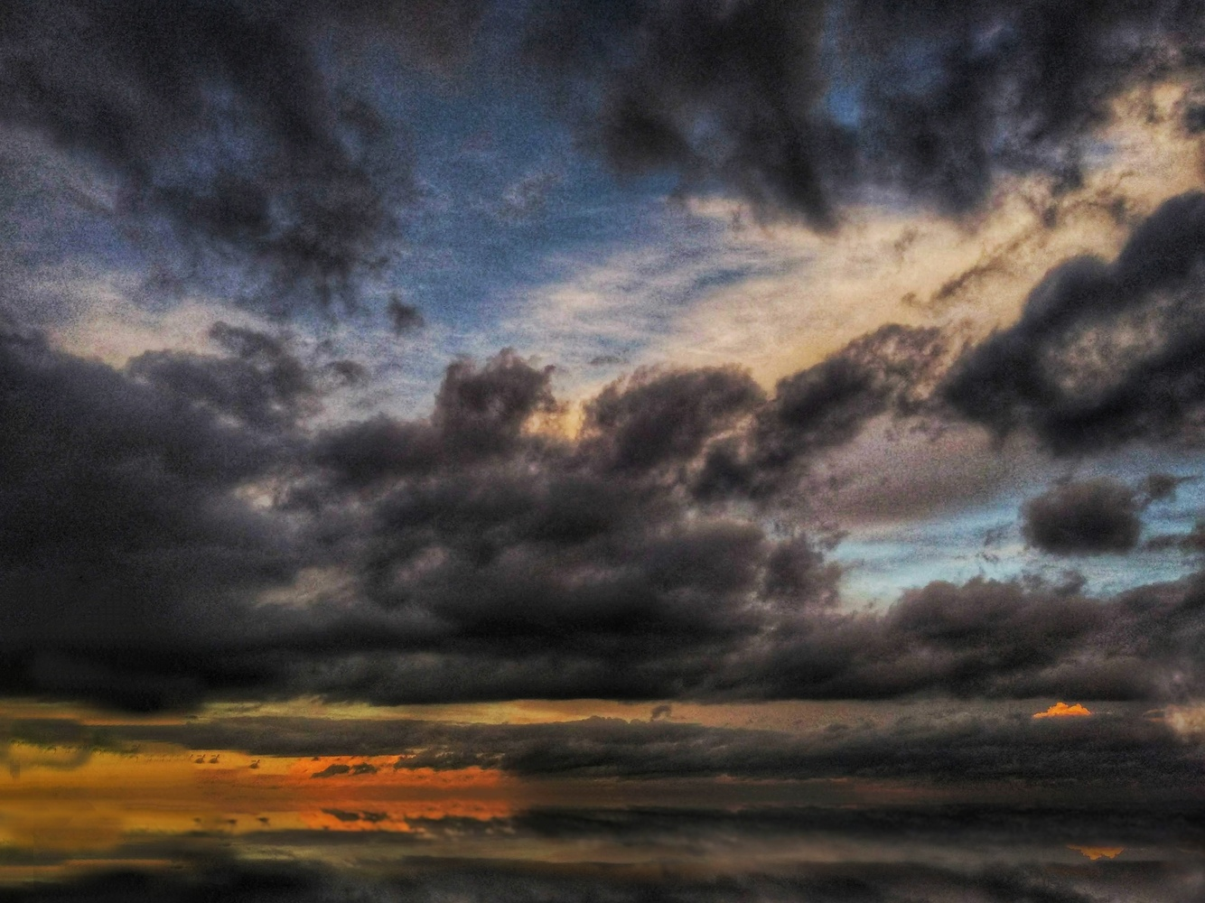 Stormy Sky at Sea by Jack Sprog