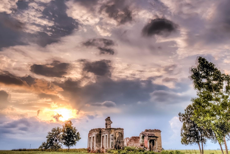 Ruins by Constantinescu Paraschiv-Alin
