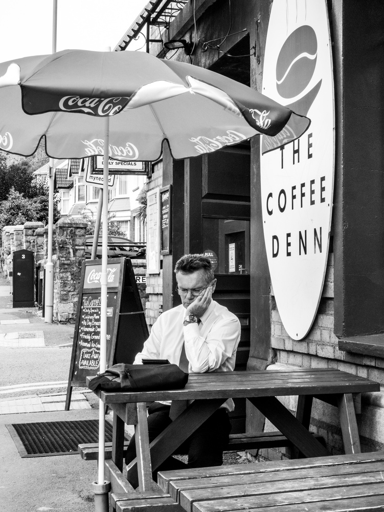 Coffee Break by Natalie Lancey