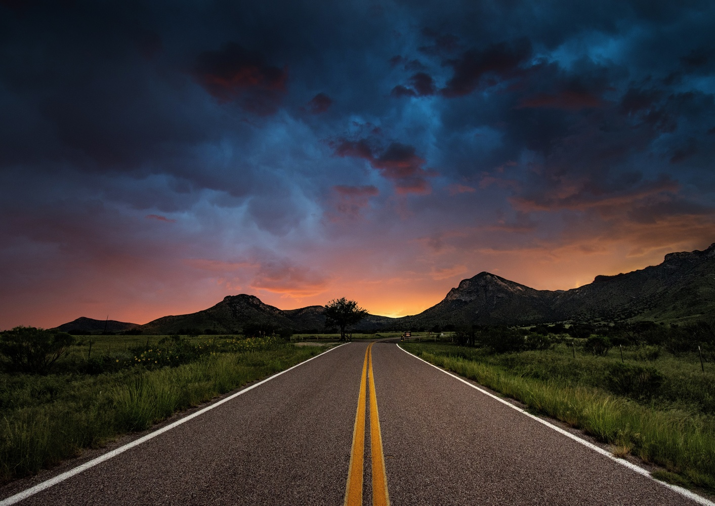 Country Road by Cameron Roxberry