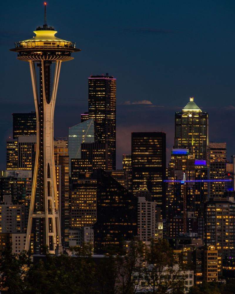 Space Needle by Cameron Roxberry