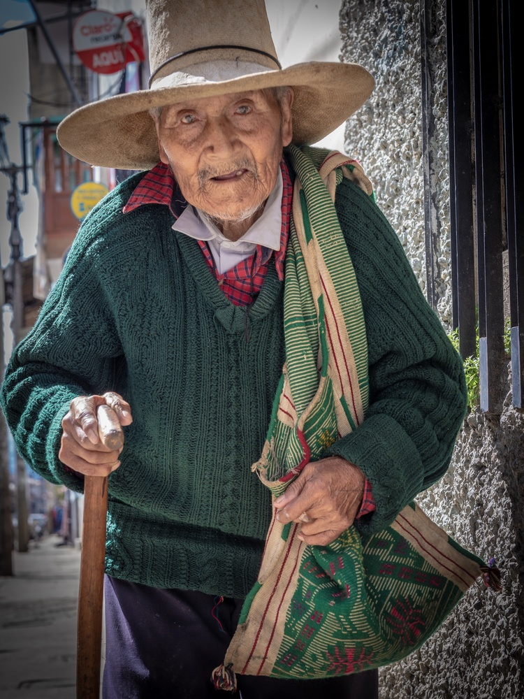 A man with story by Raul Farfan