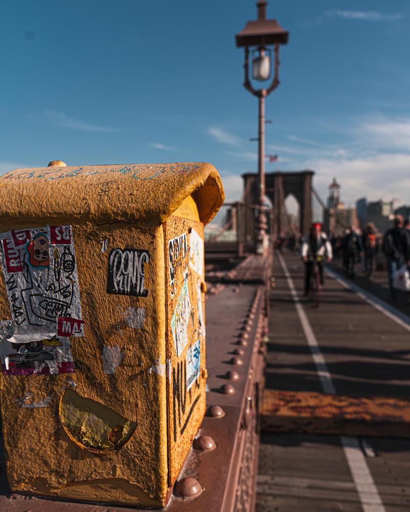 Brooklyn Bridge by Raul Farfan