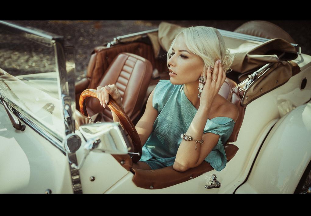 Film girl by Nerijus Sabanauskas