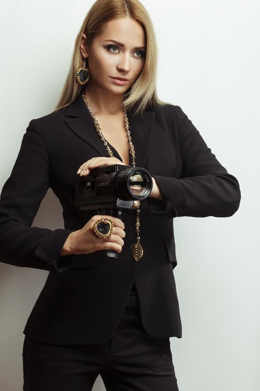 Camera girl by Nerijus Sabanauskas