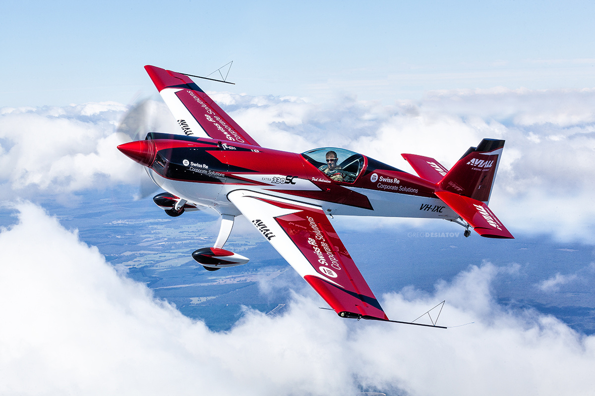 The Extra 330SC Stunt Plane by Greg Desiatov