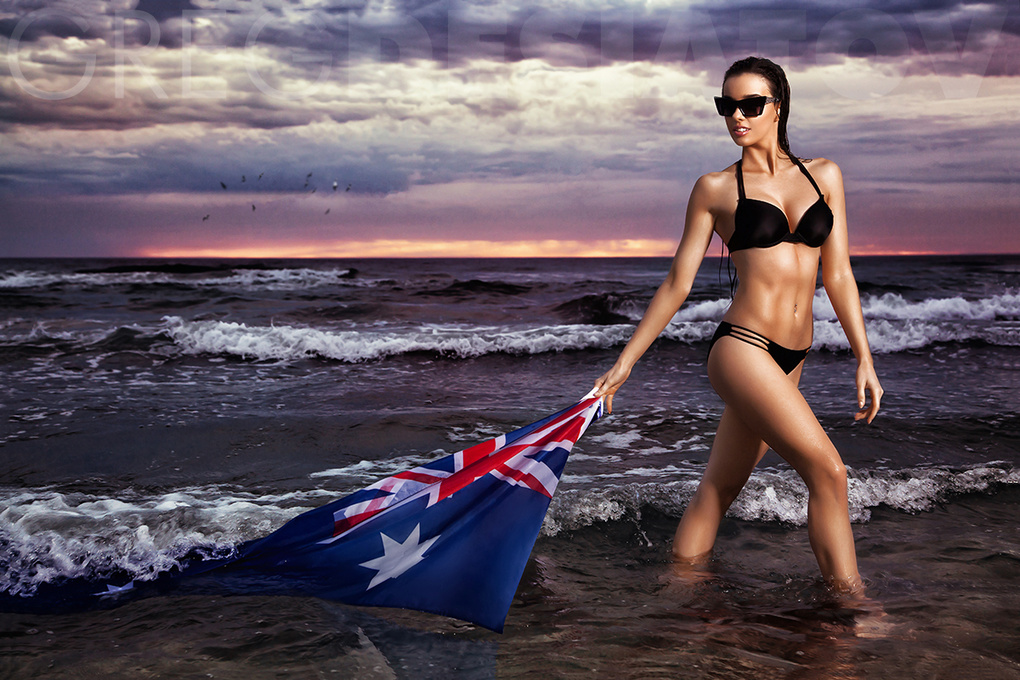 Australia Day by Greg Desiatov