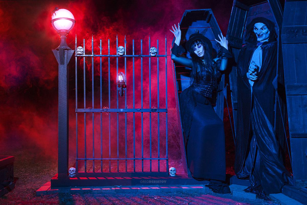 Leia - Haunted 01 by Greg Desiatov