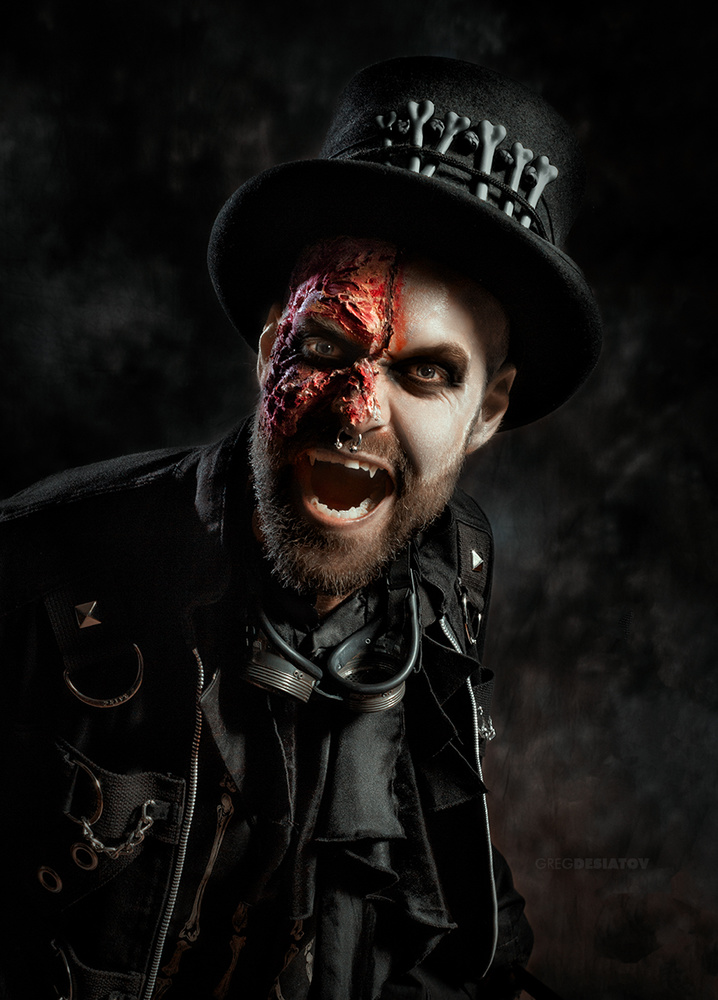 Luke - Steampunk Vampire by Greg Desiatov