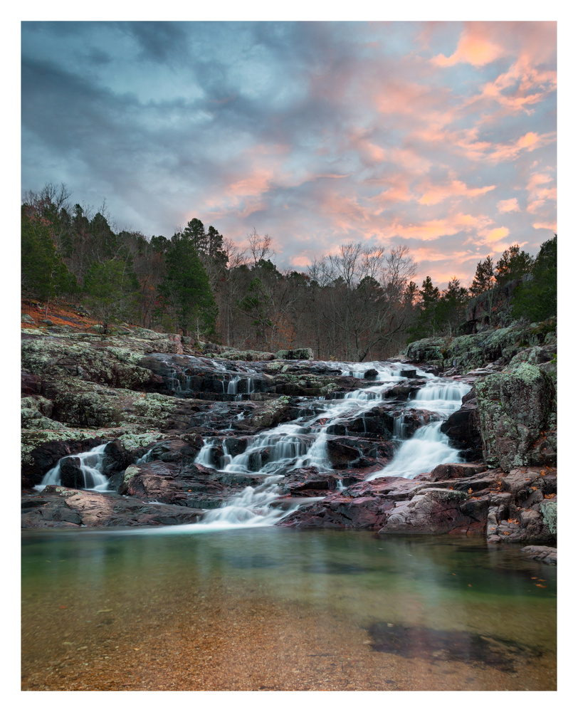 Rocky Falls by Thomas Herbst