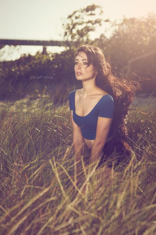 Gazing Into The Wind by Jeff Lohne