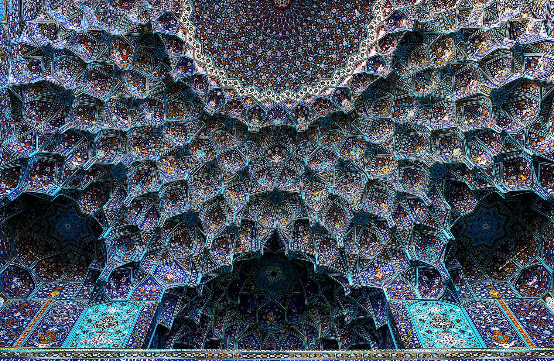 Shah Abbasi Mosque 1611-1629 by Poorya Rafiezade