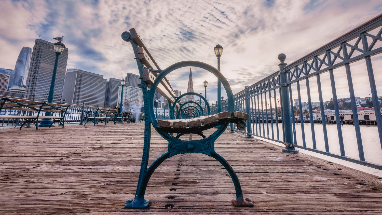 Perspective from a Pier by Dayne Farley