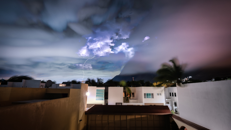 Electric skies by Dayne Farley