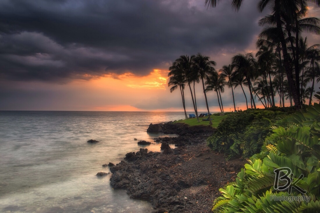 Hawaiian Sunset by Bill Klingbeil