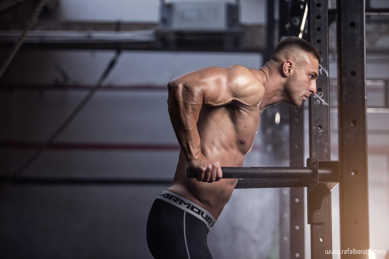 Personal trainer photoshoot by Rafał Boruch