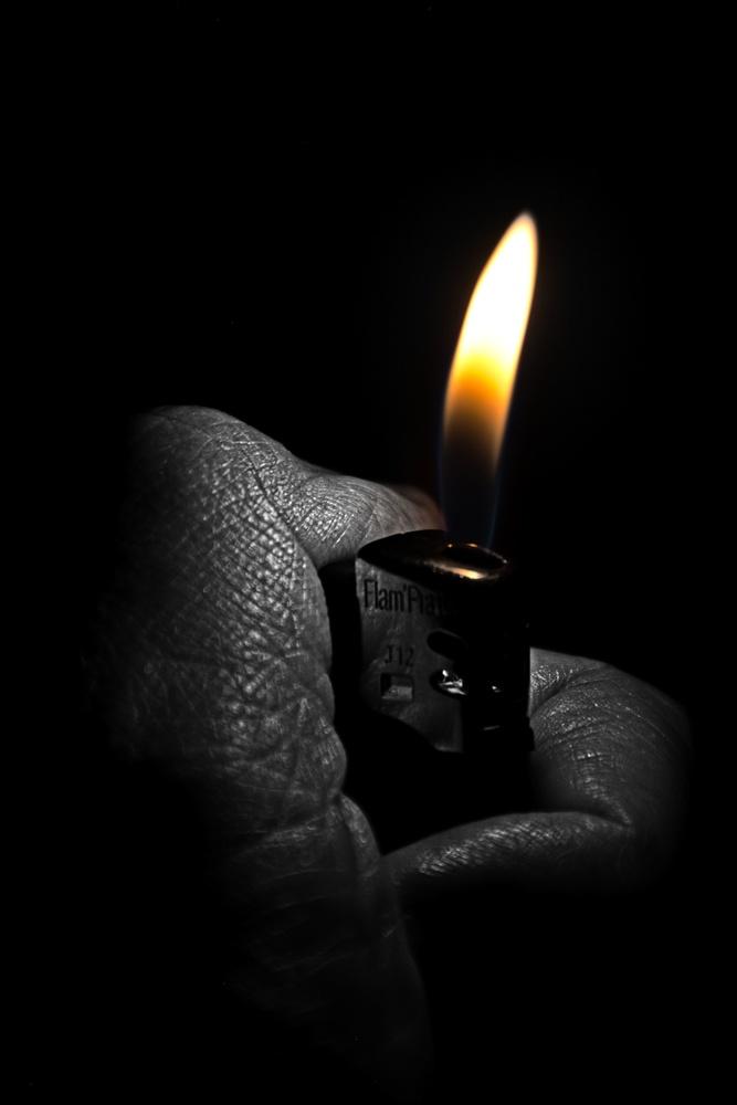 Light my fire by Frederic Moné