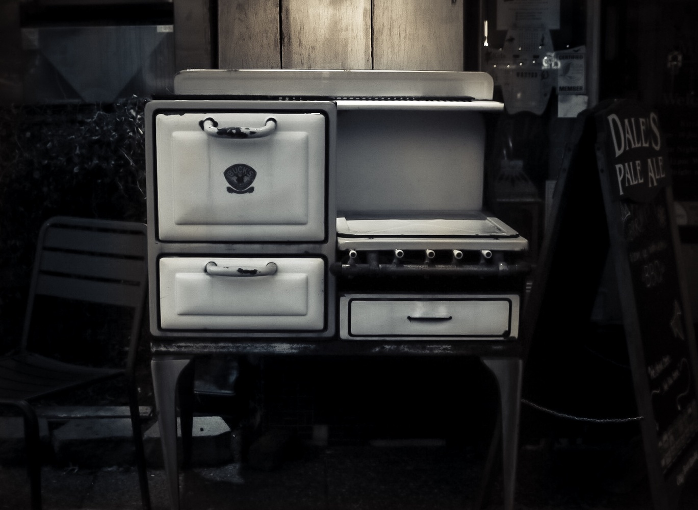 Old stove by Joshua Barclay