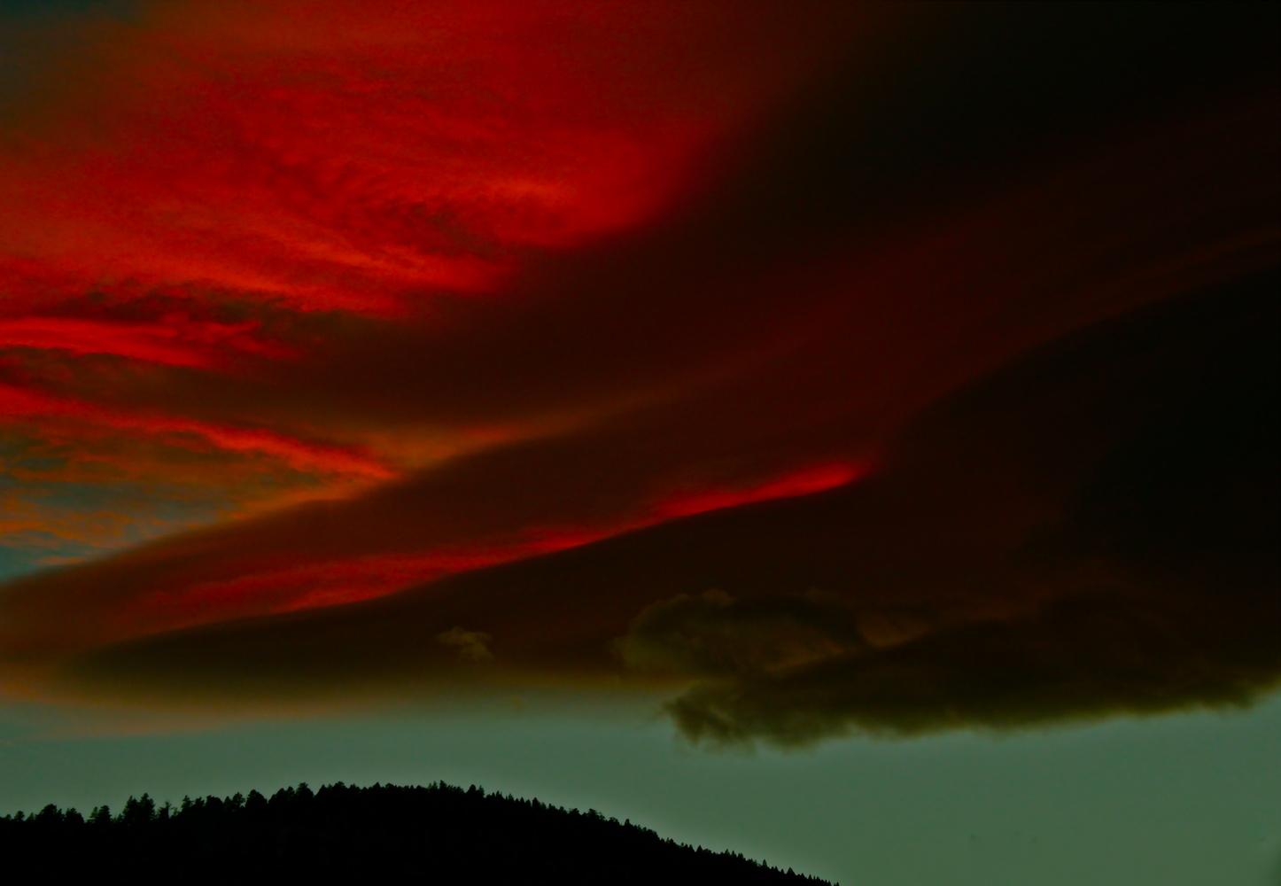 Dramatic sunset by Paddy Hackett