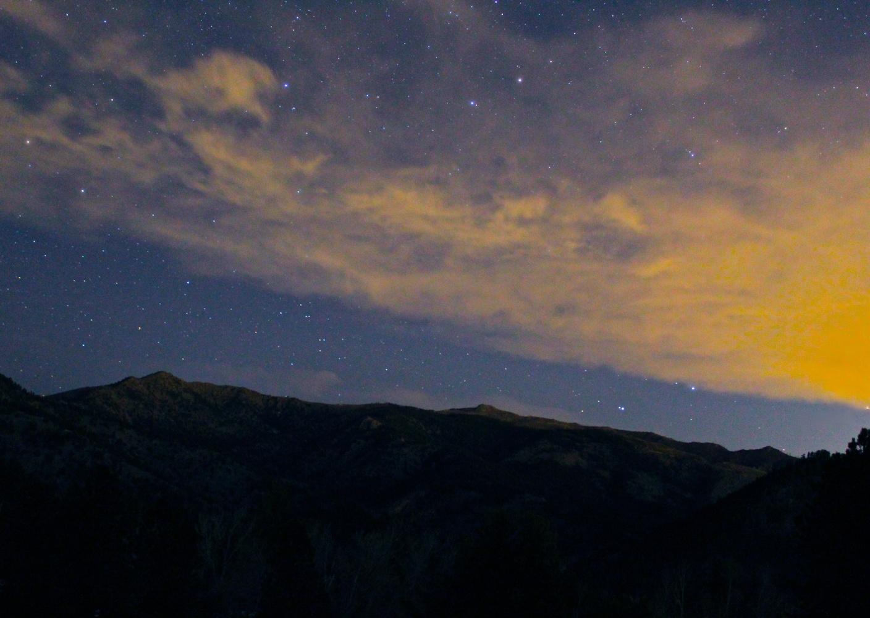 Mountain Skies by Paddy Hackett