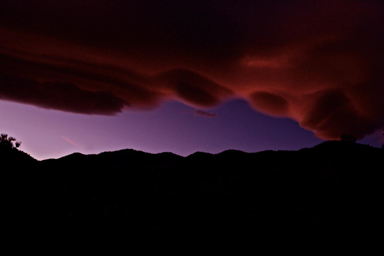 Mountain sunset by Paddy Hackett