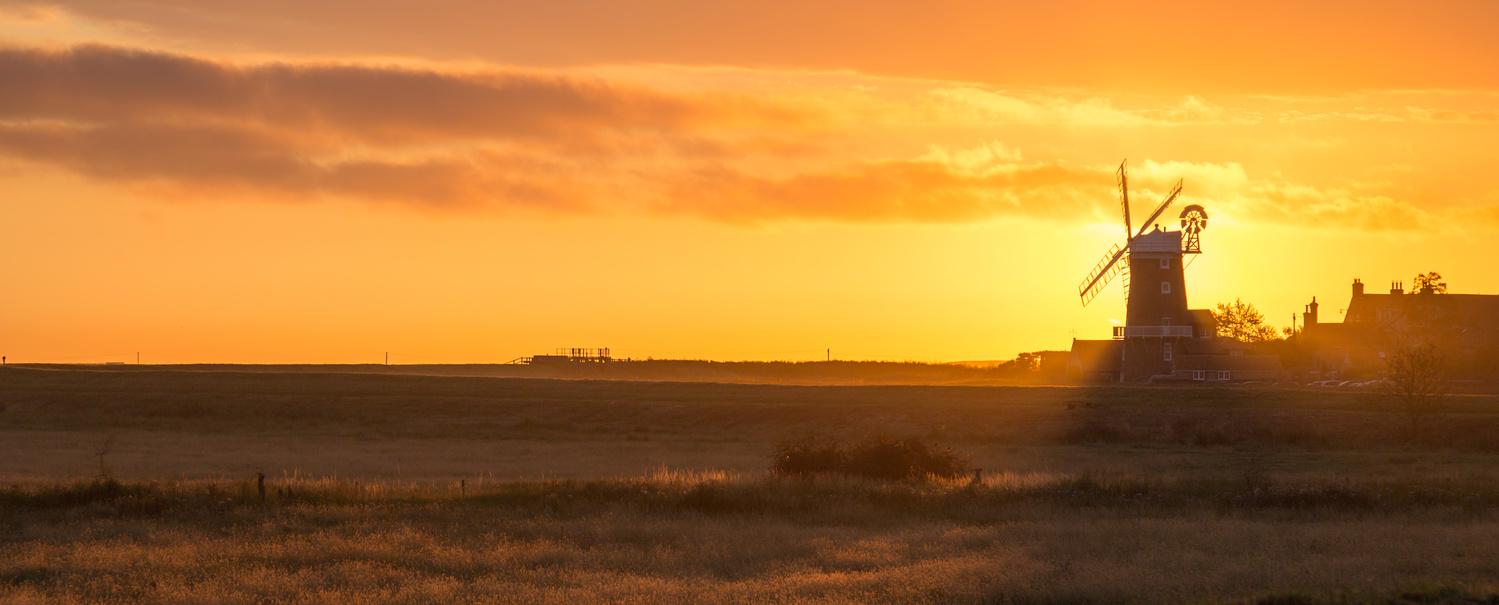 Norfolk Panorama 1 by Richard Keeling