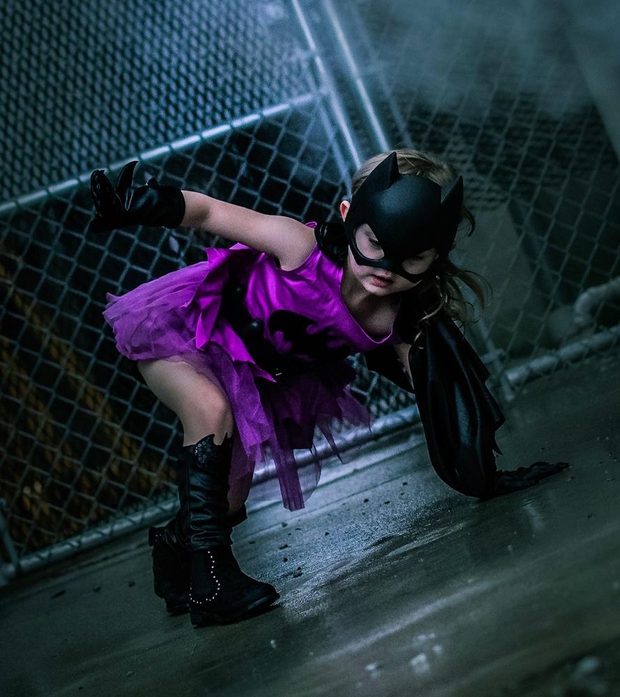 90s Style Batgirl by Logan Baker