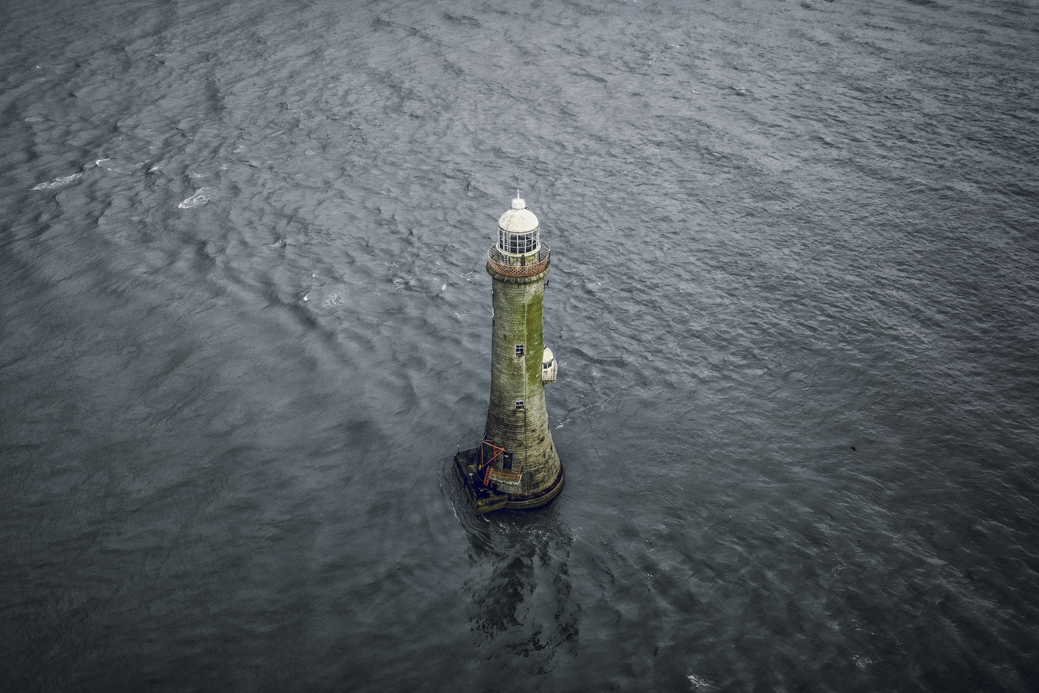 Lonely Lighthouse by GARY CUMMINS