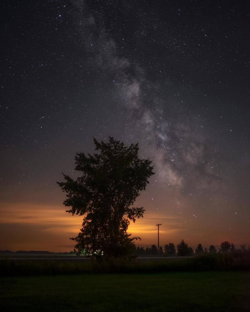 Night Skies by GARY CUMMINS