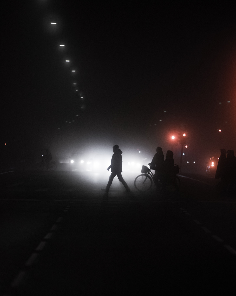 Foggy Nights in Copenhagen by GARY CUMMINS