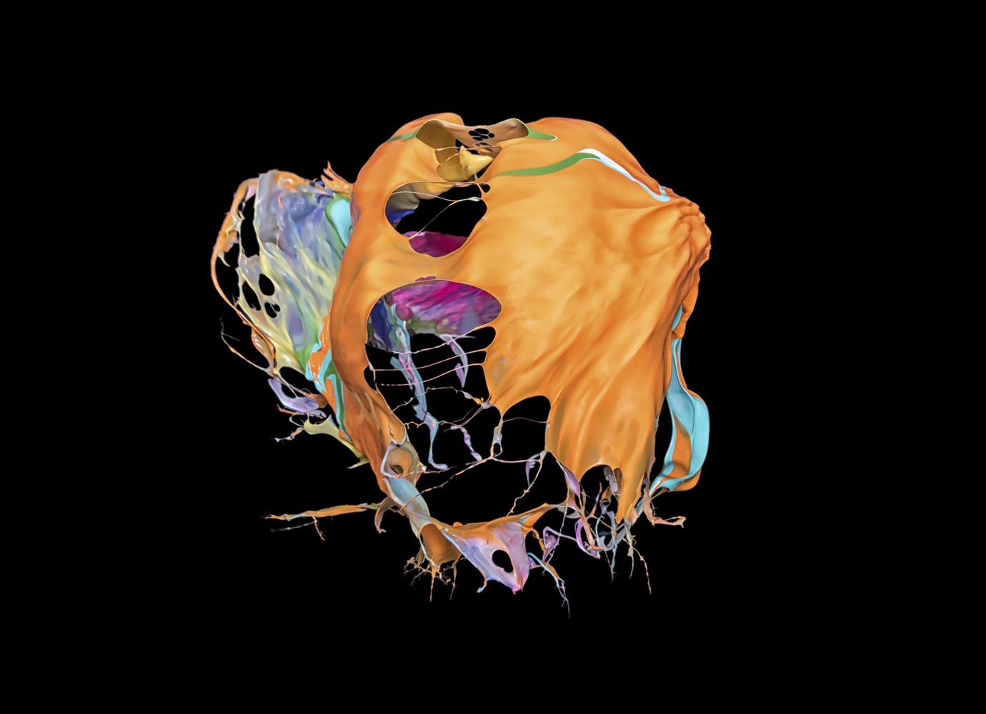 Orange Pop by GARY CUMMINS