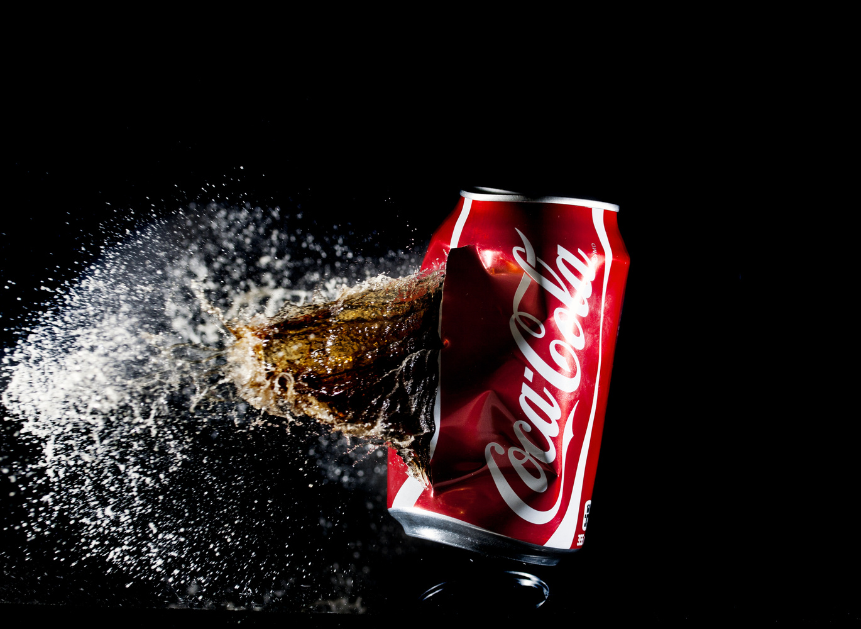 Coke Light by GARY CUMMINS