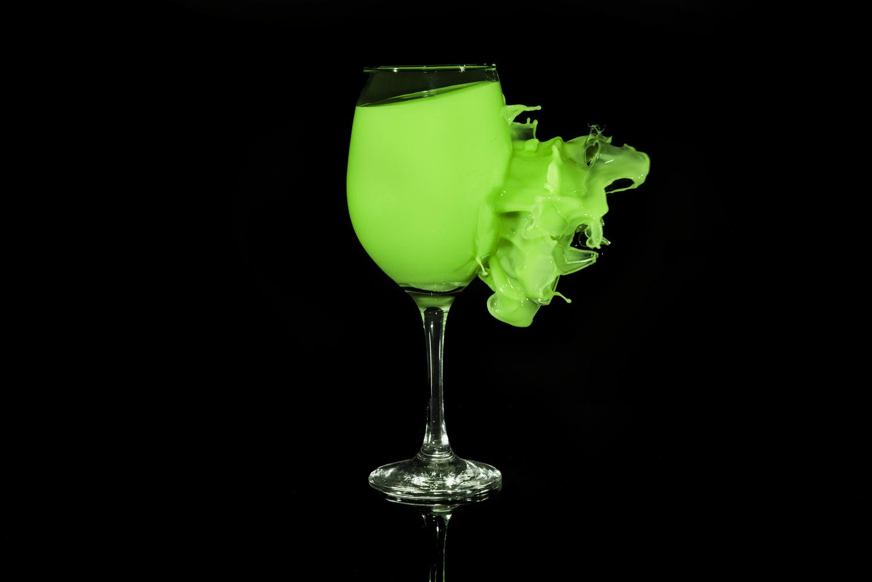 Green Goblet by GARY CUMMINS