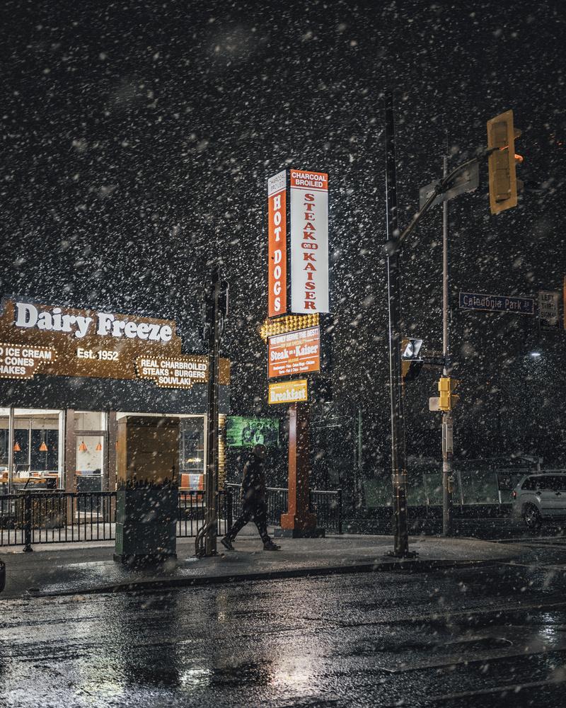 Winter Nights in Toronto by GARY CUMMINS