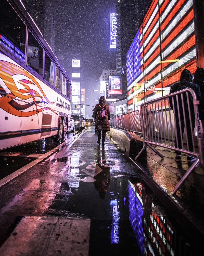 NYC Nights by GARY CUMMINS