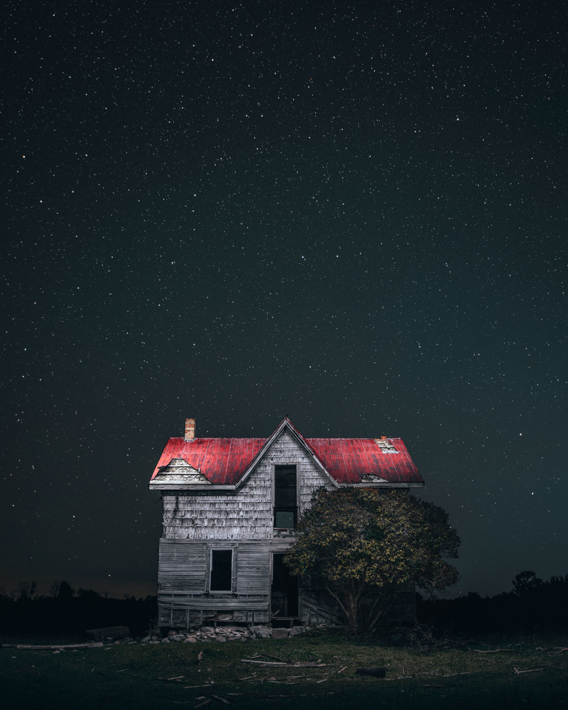 The House With The Red Roof by GARY CUMMINS