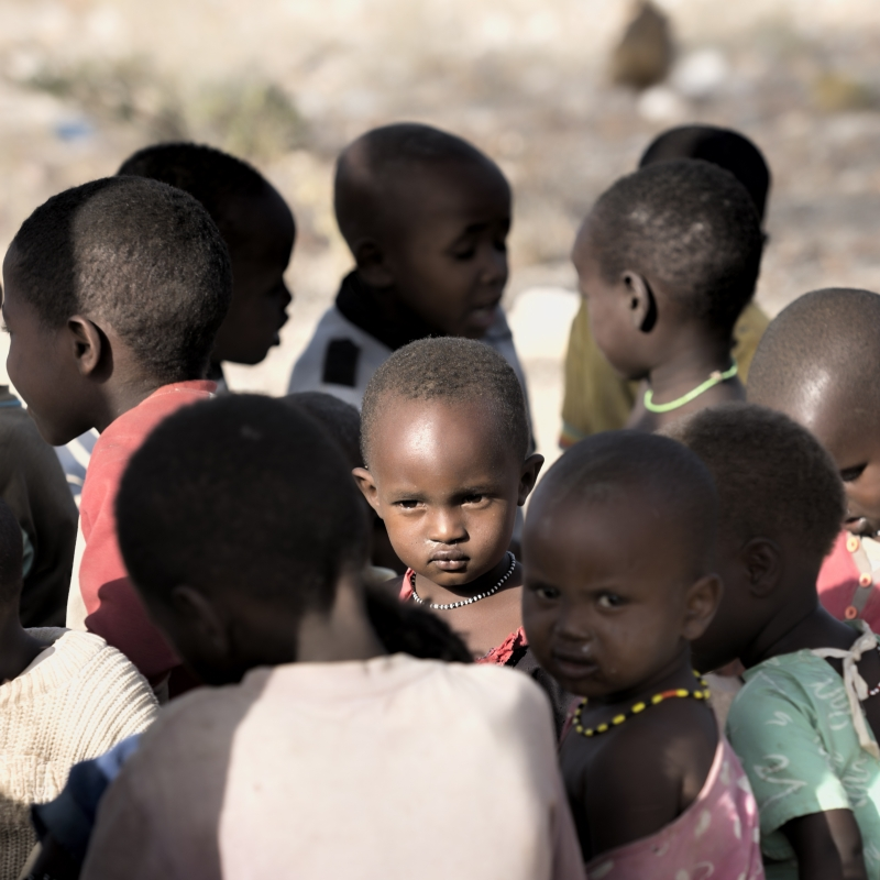 Samburu Child by Buzz Covington