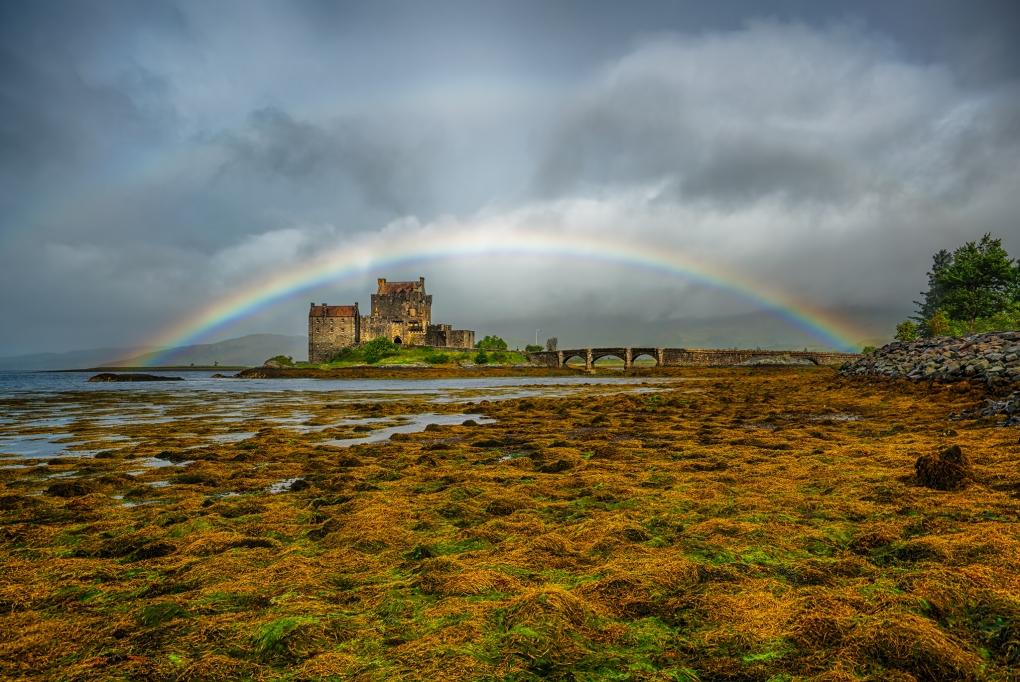 a Scottish Castle by Buzz Covington