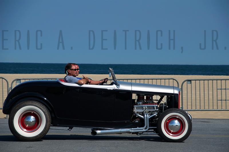 Hot Rod Beach by Eric Deitrich