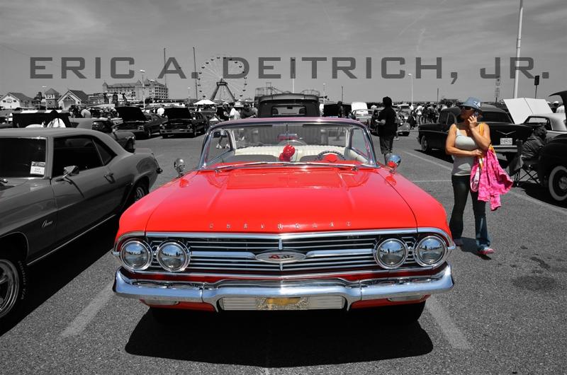 Hot Rod Parking Lot by Eric Deitrich