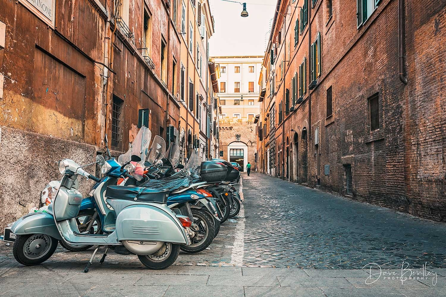 Streets of Rome by Dave Bentley
