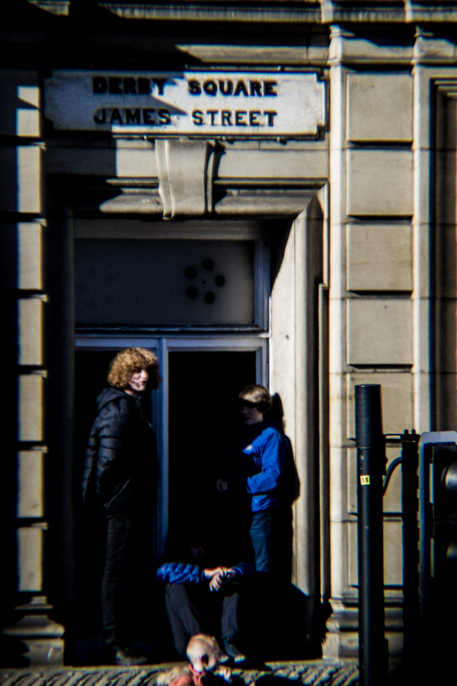 Kids in window by Peter Sweeney