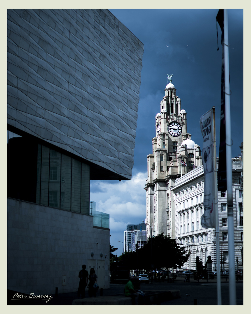 The Liver Building by Peter Sweeney