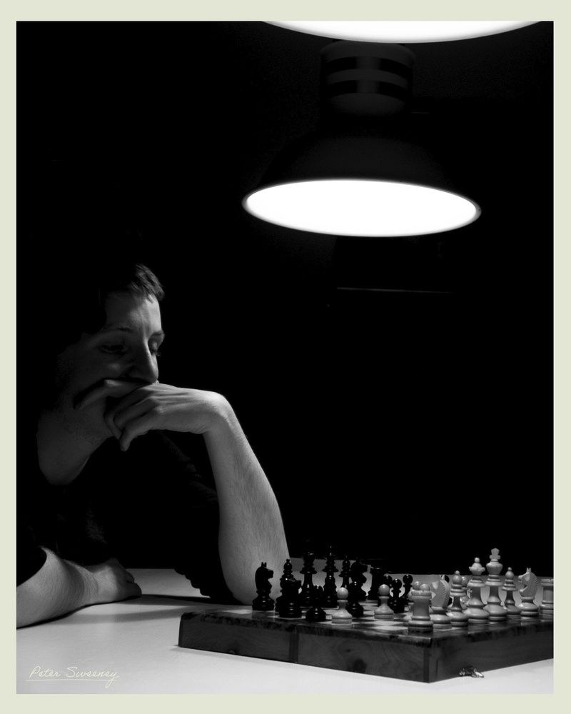 An Empty Game Of Chess by Peter Sweeney
