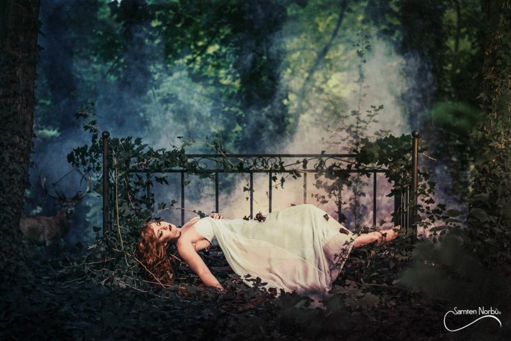 sleeping beauty by Samten Norbù