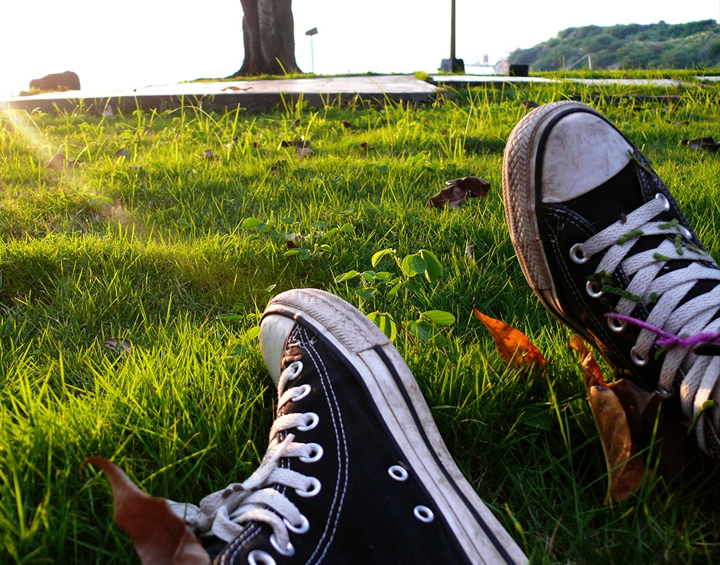 My converse's! by Nichott Leon
