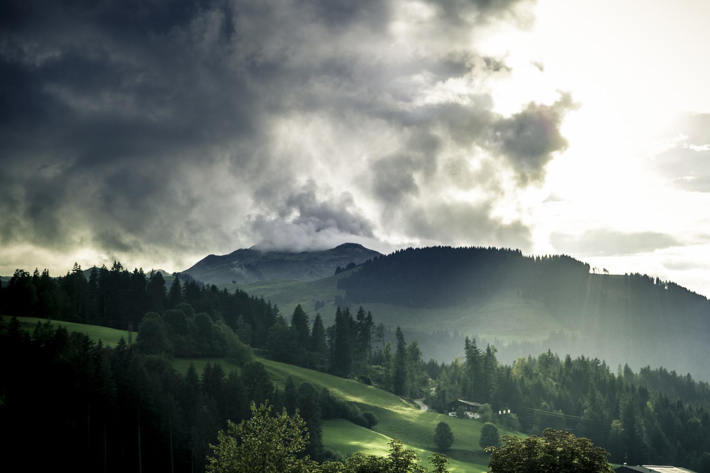 Sun comes out after a storm by Martin Krasinski