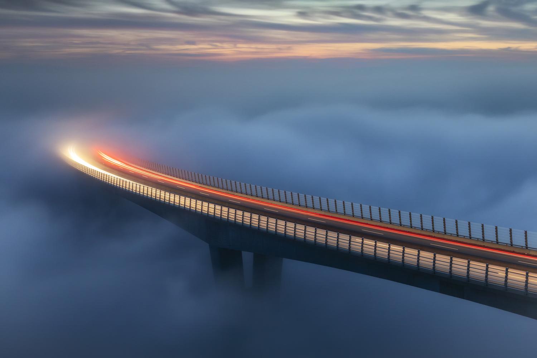 Lost highway by Piotr Skrzypiec