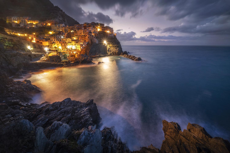 Ligurian morning by Piotr Skrzypiec