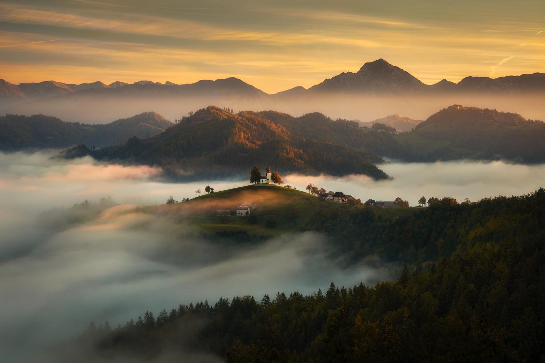 Slovenian morning by Piotr Skrzypiec